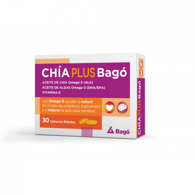 CHIA PLUS BAGO CAPS BLA X 30