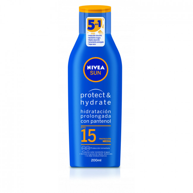 NIVEA SUN FPS 15 HIDRA X200ML