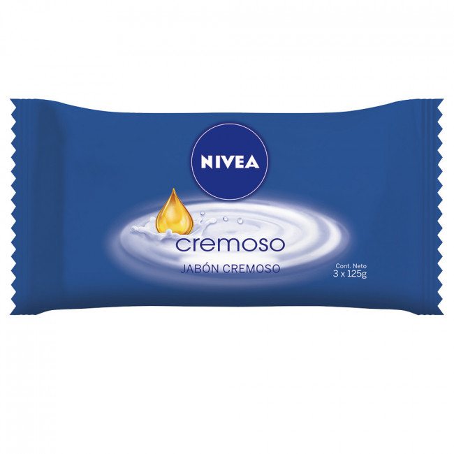 NIVEA JAB CREMOSO    3 X125GR