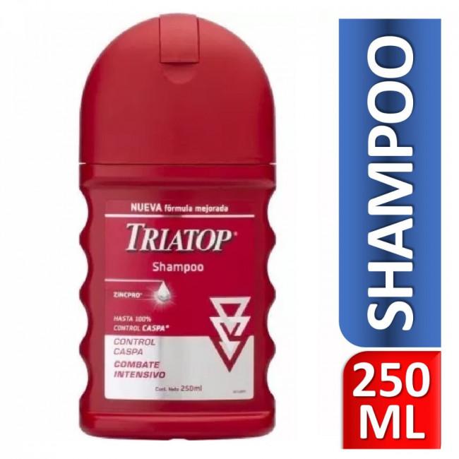 TRIATOP SH CONT CASPA  X250ML