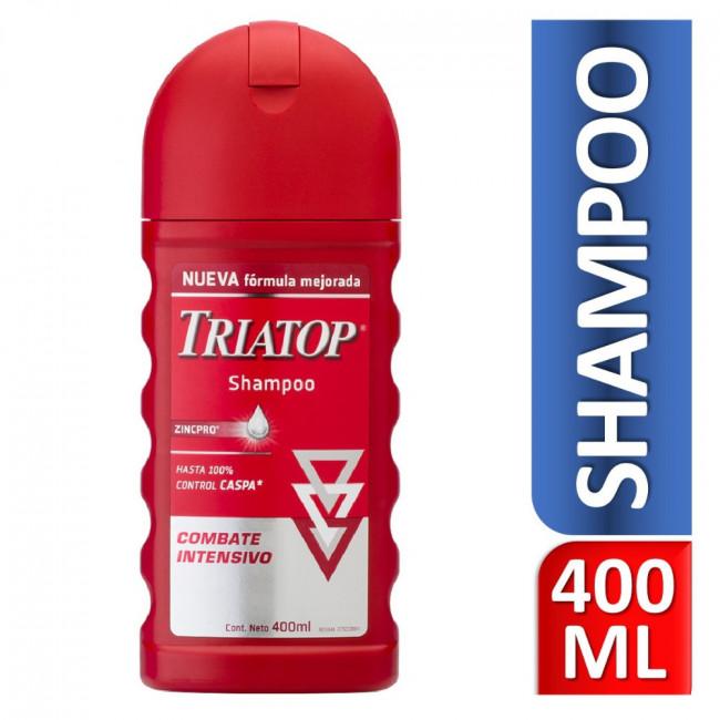 TRIATOP SH CONT CASPA  X400ML