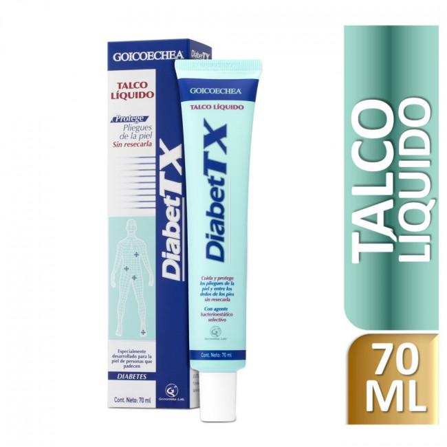 DIABET-TX TALCO LIQUIDO X70ML