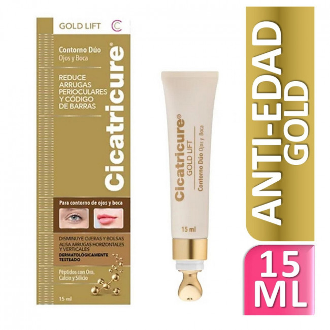 CICATRICURE GOLD LIFT DUOX15G