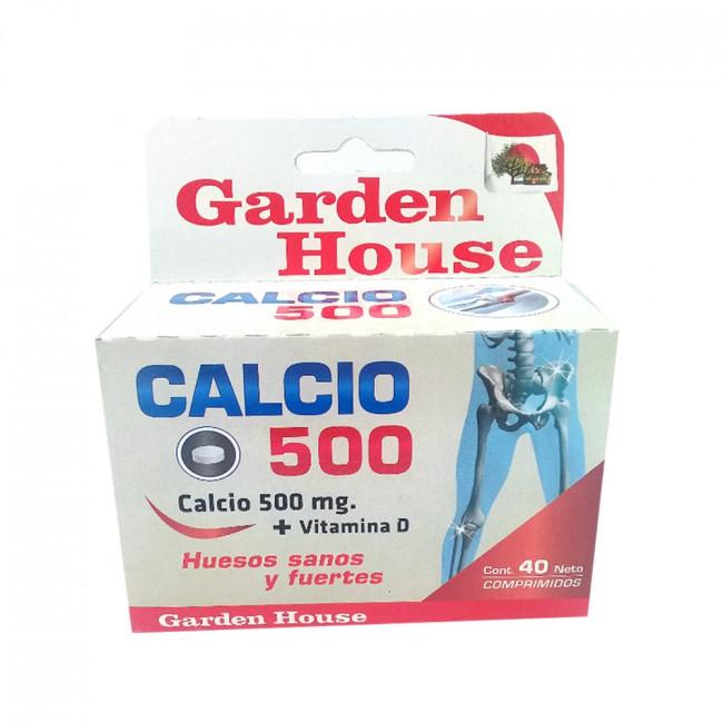 GARDEN.H CALCIO 500MG COMPX40