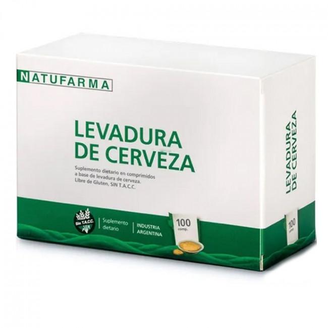 NATUFARMA LEV CERVE COMP X100