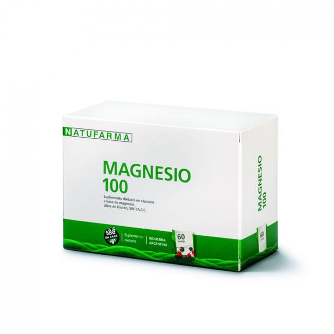 NATUFARMA MAGNE 100 CAPS X 60