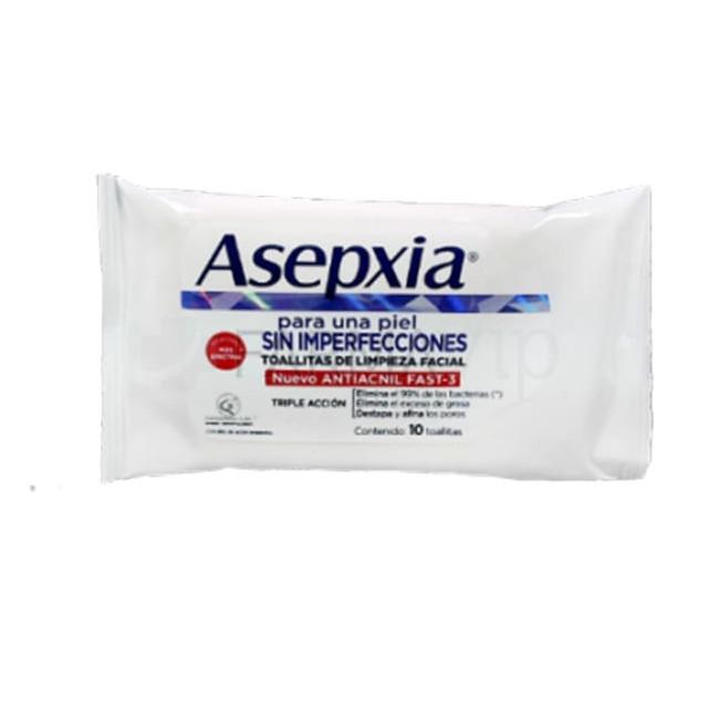 ASEPXIA TOALLITAS PIEL ACNX10