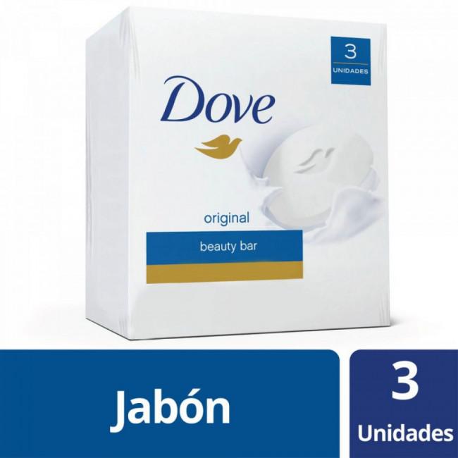 DOVE JAB BLANCO      3 X 90GR