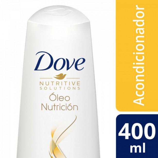 DOVE ACOND OLEO NUTRICIONX400