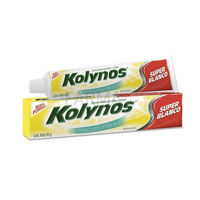 KOLYNOS DENT FRESCURA INT X90