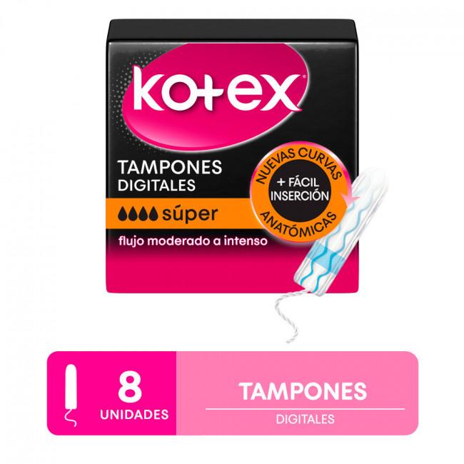 KOTEX TAMPONES SUPER X 8