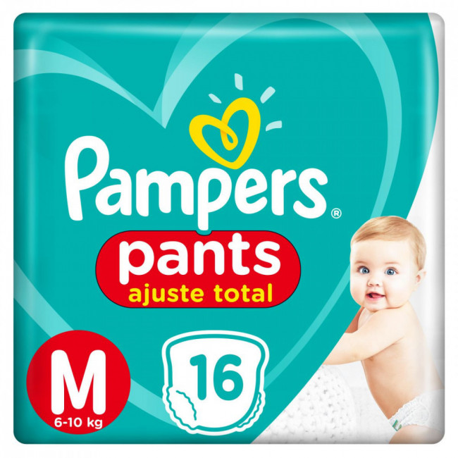 PAMPERS PANTS        M X16