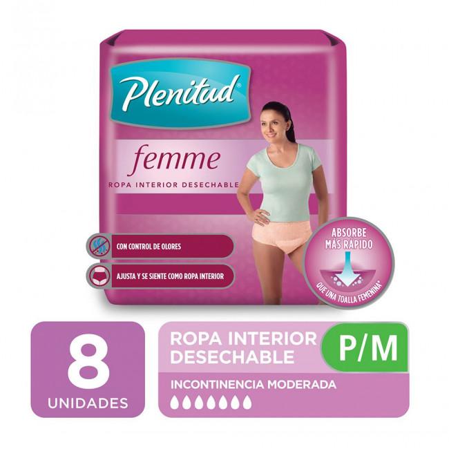 PLENITUD ROPA FEMME P/M   X 8