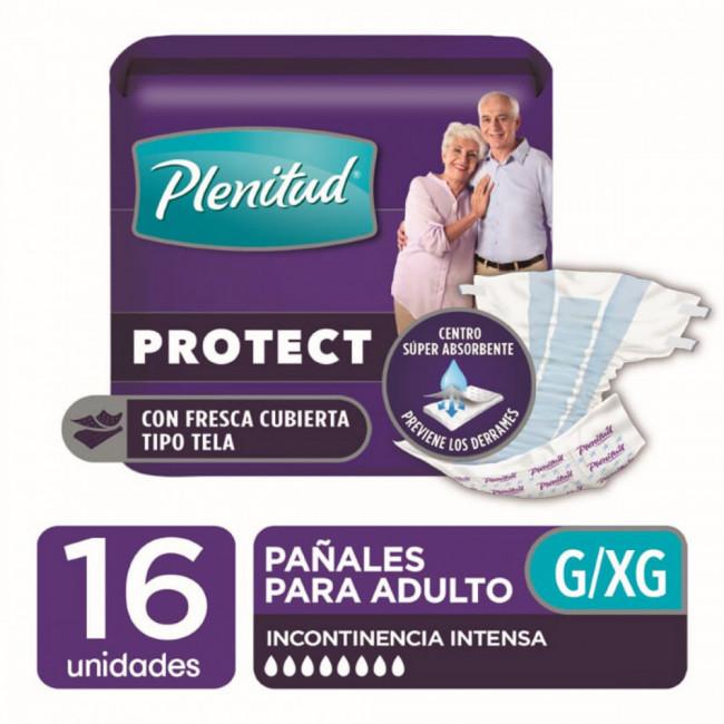 PLENITUD PAÑ AD PROT XG  X 16