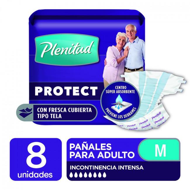 PLENITUD PAÑ AD PROT MED X  8