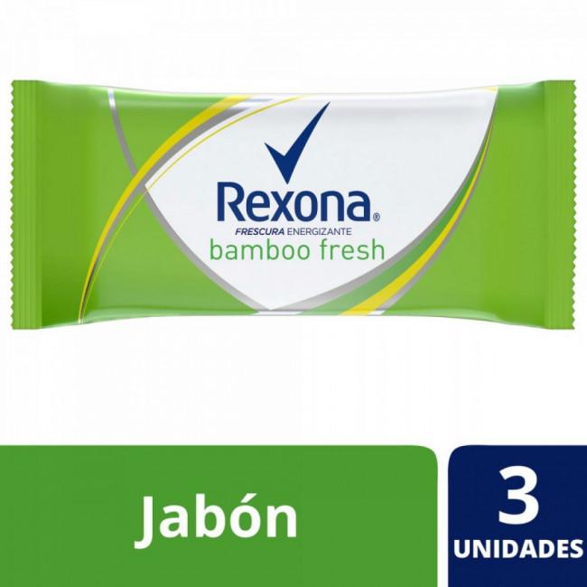 REXONA JAB BAMBOO FRE 3X125GR