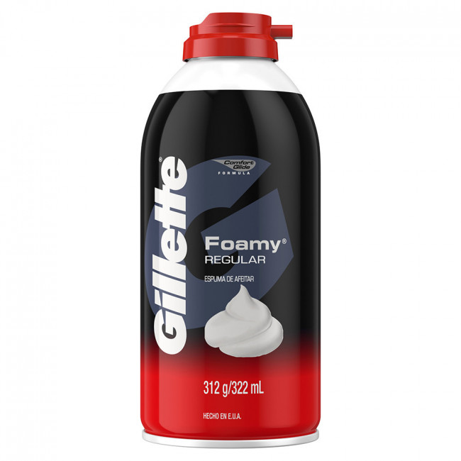 GILLETTE FOAMY REGULAR X312