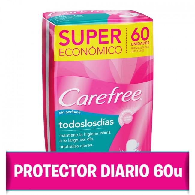 CAREFREE TODOS LOS DIAS  X 60