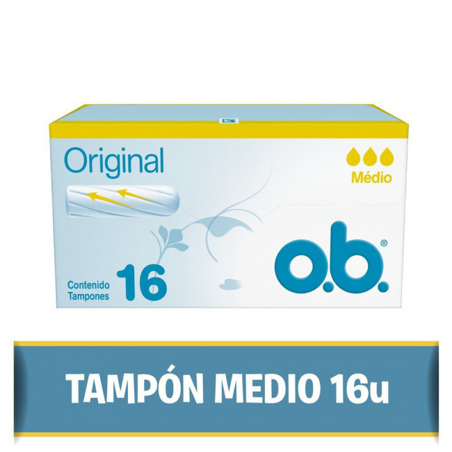 OB TAMP MEDIO X16