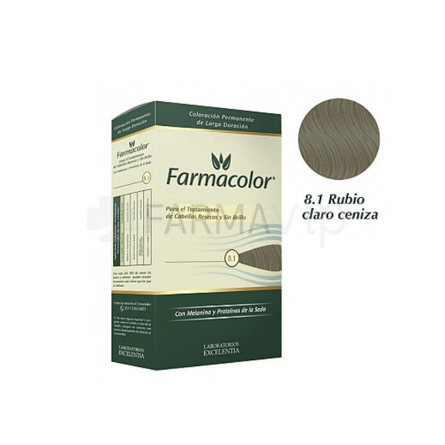 FARMACOLOR KIT  8.1 RUBIO CLA