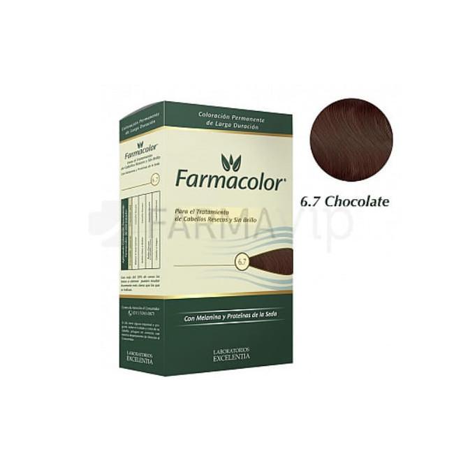FARMACOLOR KIT  6.7 CHOCOLATE