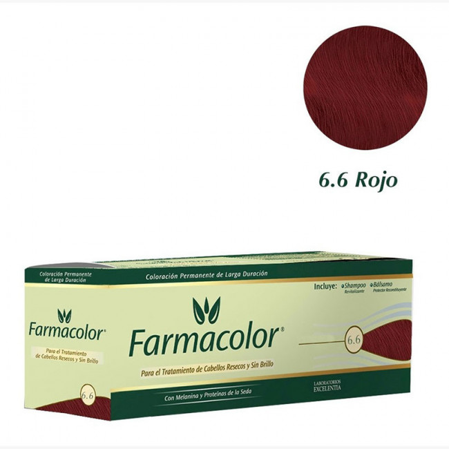 FARMACOLOR IND  6.6 ROJO