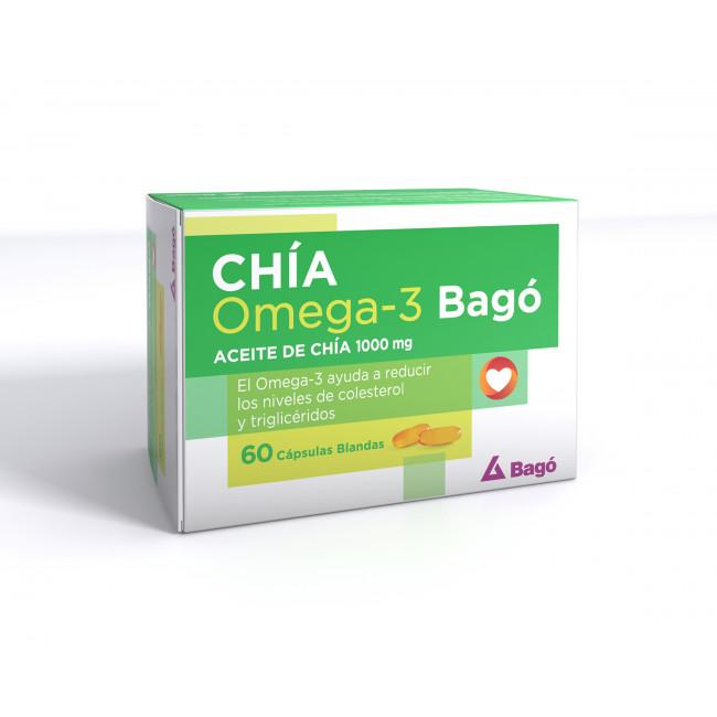 CHIA OMEGA-3 1000MG CAPS X 60