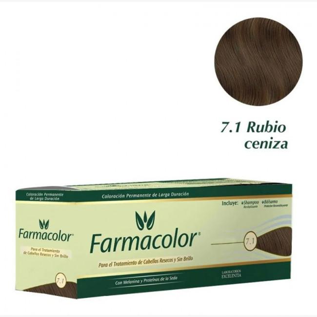 FARMACOLOR IND  7.1 RUBIO CEN