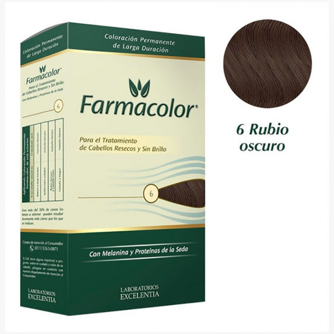 FARMACOLOR KIT  6   RUBIO OSC