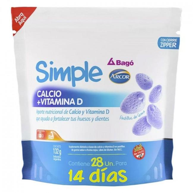SIMPLE CALC+D DOY PACK   X 28