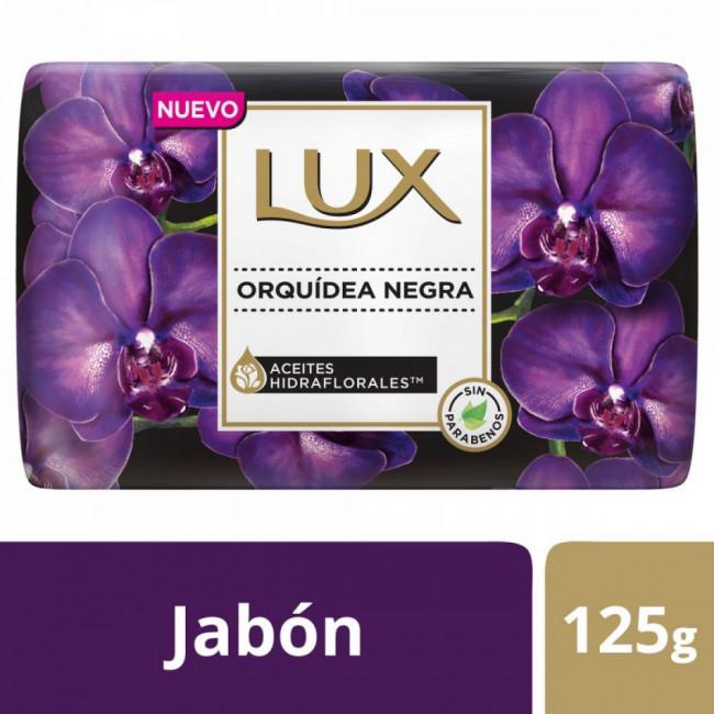 LUX JAB ORQUIDEA NEGR  X125GR