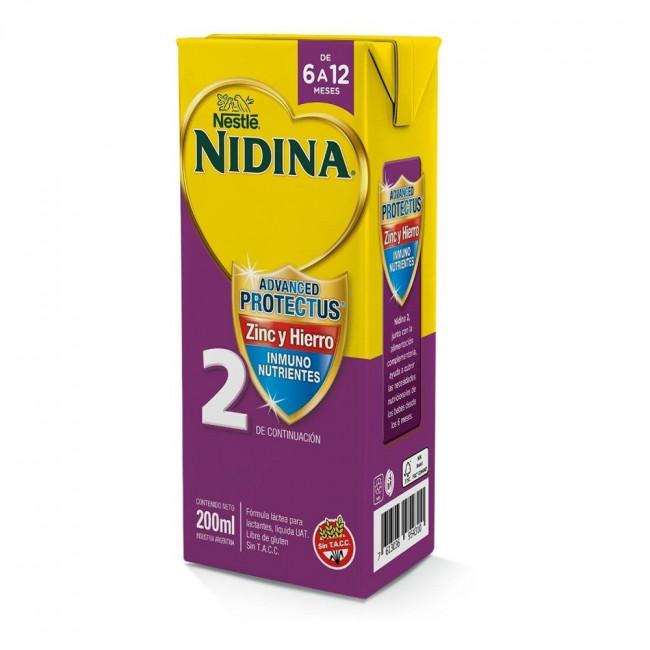 NIDINA 2  BRICK X 200ML