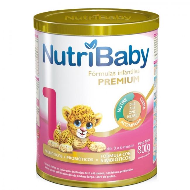 NUTRIBABY 1 LATA   X 800 G