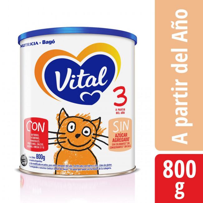 VITAL 3 NF LATA       X 800GR