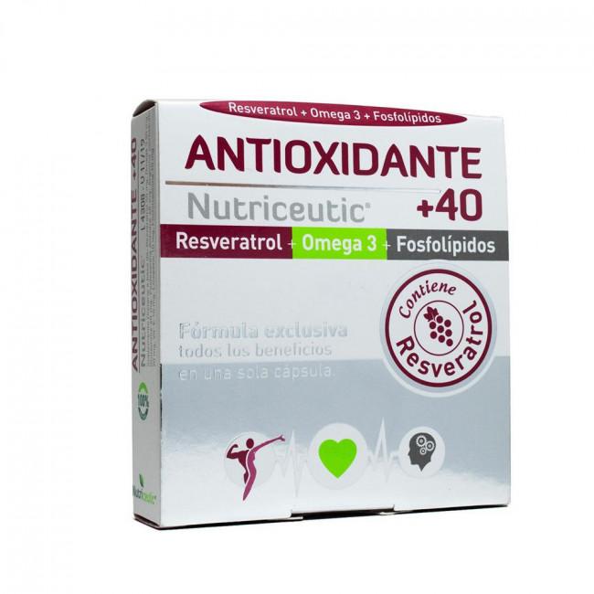ANTIOX +40 NUTRICEUT CAPS X32