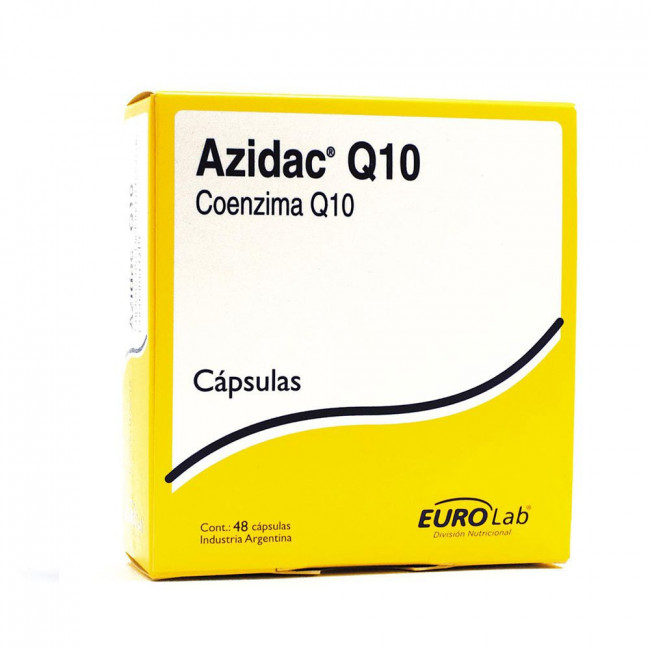 AZIDAC Q10  CAPS X 48