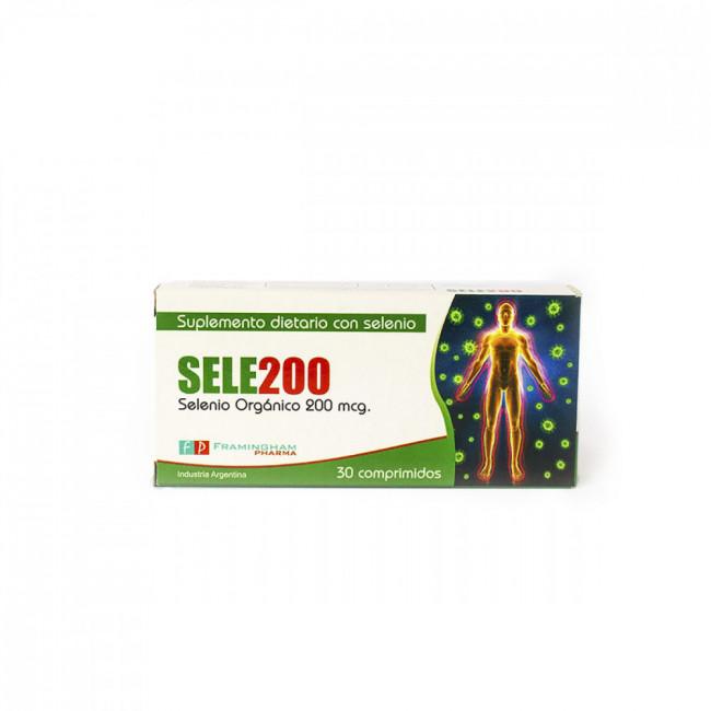 SELE200 200 MCG COMP X 30