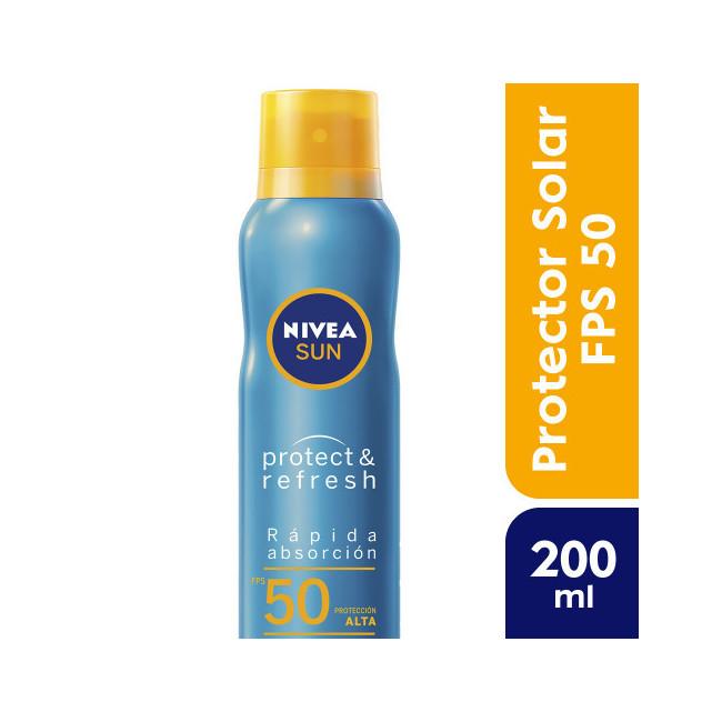 NIVEA SUN FPS 50 P&FRESX200ML