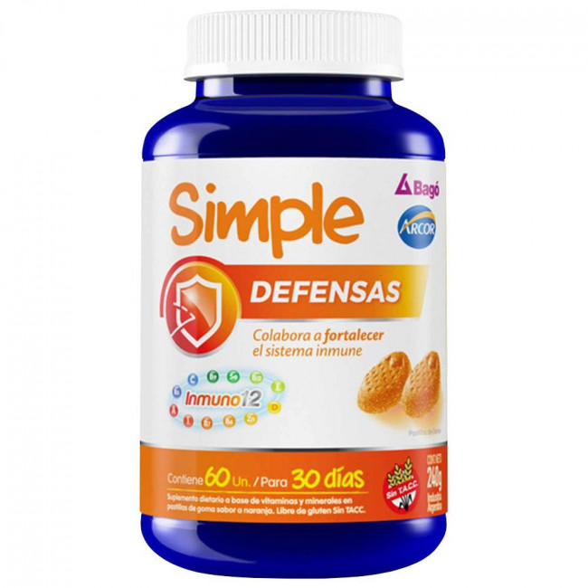 SIMPLE DEFENSAS PAST GOMAX 60