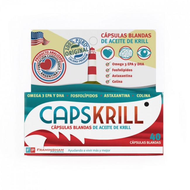 CAPSKRILL CAPS BL X 40
