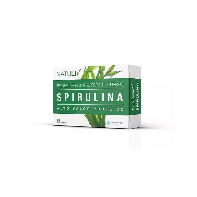 NATULIV SPIRULINA COMP   X 60