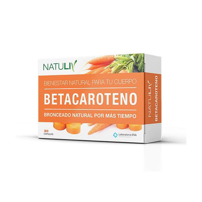 NATULIV BETACAROTENO CAPSX 30