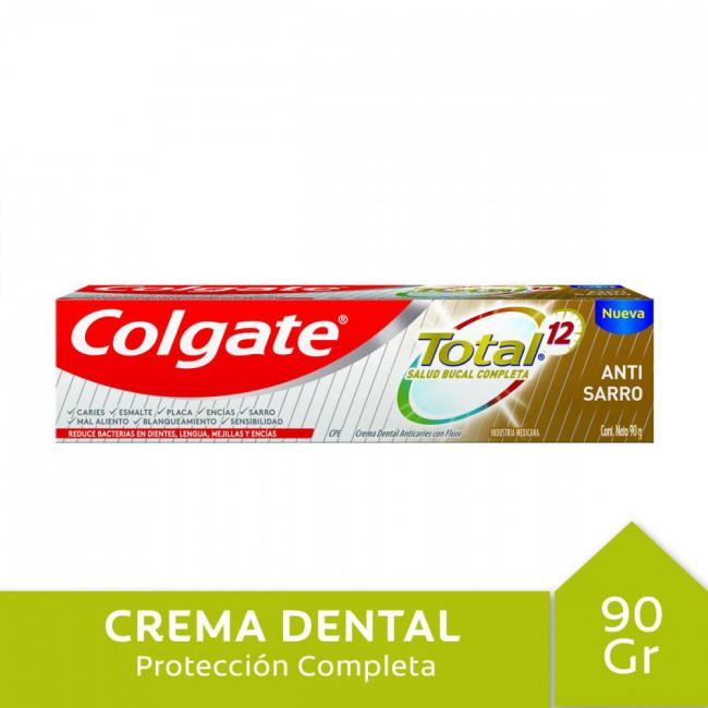 COLGATE TOT12 DENT A/SARRX 90