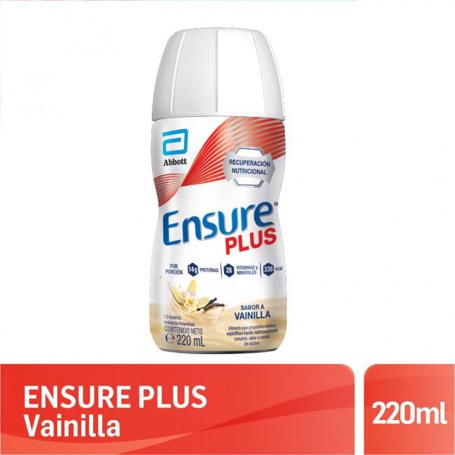 ENSURE PLUS VAINILLA   X220ML