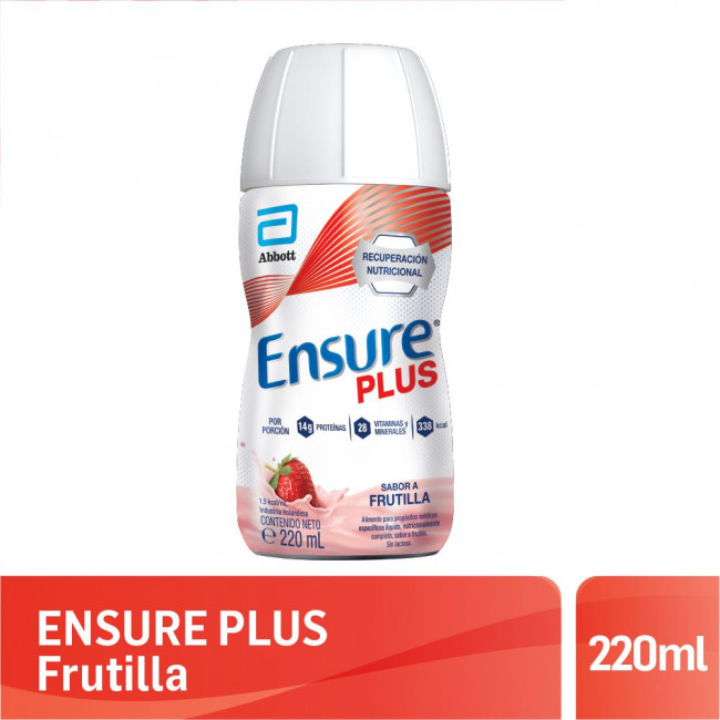 ENSURE PLUS FRUTILLA   X220ML