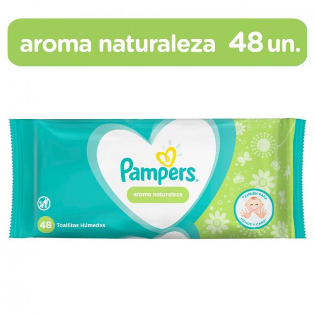 PAMPERS TOHU NATURALEZA  X48U