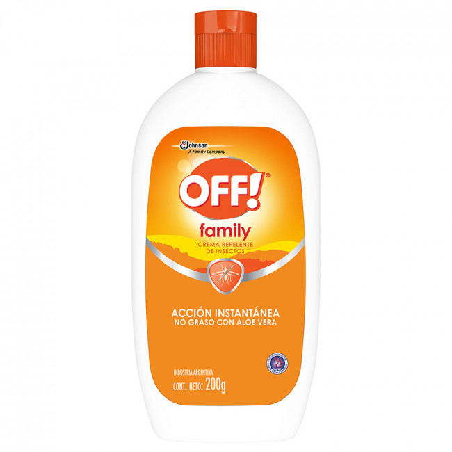OFF FAMILY CR REPEL ALOE X200
