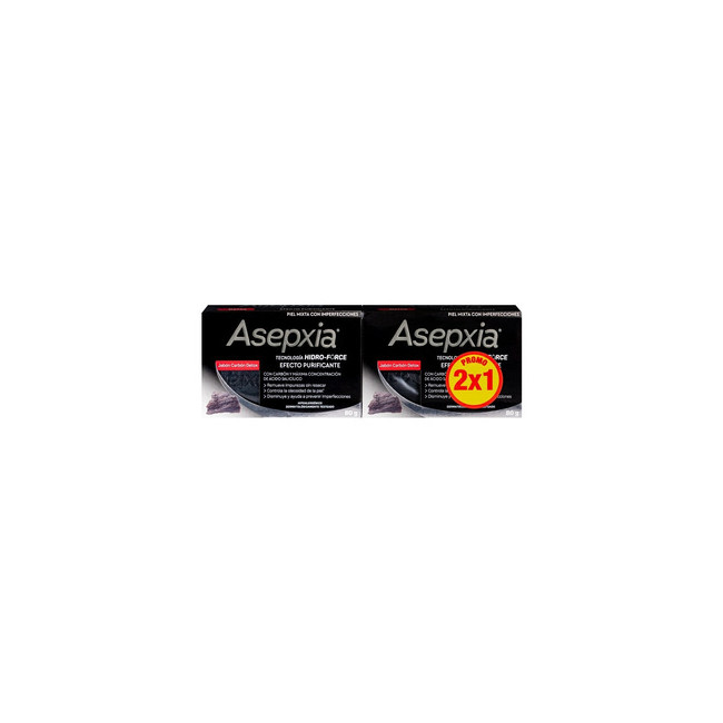ASEPXIA JAB CARBON 2X1   X80